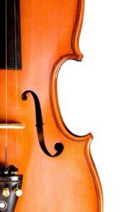 Violin - Symbol for Beethoven's hearing loss