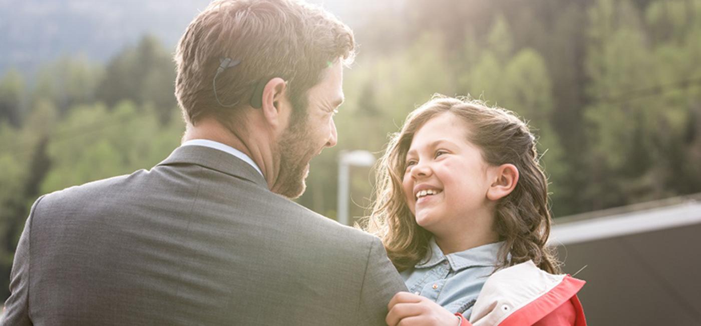 a father and a daughter -tinnitus